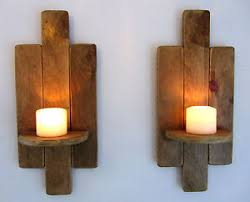 Pallet Floating Shelves by Pair Of 48cm Reclaimed Pallet Wood Floating Shelf Wall Sconce