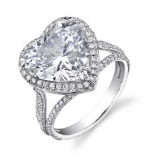 heart shaped engagement ring show your by giving a heart shaped engagement ring