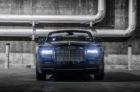 wrapped rolls royce bespoke rolls royce phantom drophead coupe nighthawk unveiled