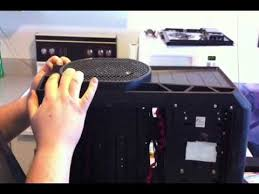 antec 900 case fan replacement how to remove the big boy fan on antec nine hundred ii gamer case