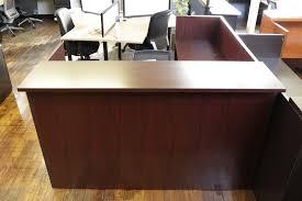 Arnold Reception Desks by Hon Mahogany Laminate L Shaped Reception Desk U2022 Peartree Office