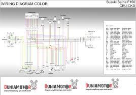 jalur kelistrikan suzuki satria fu 150 lengkap duniamotor net