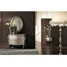 Silver Leaf Nightstand Silver Leaf Bombay Chest Indonesian French Furniture Teak