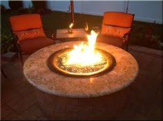 Diy Glass Fire Pit by Backyard Propane Fire Pit Pavers And Outhouse Project