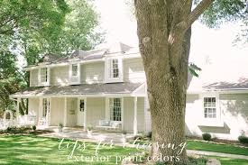 Exterior House Paint Schemes - colonial exterior paint colors