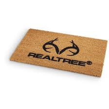 realtree coir doormat 18 x29 5 l 655470 rugs at sportsman s guide