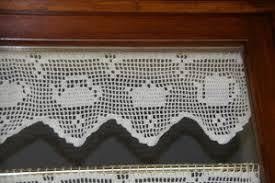 mod鑞e de rideaux de cuisine rideaux au crochet pour la cuisine tutoriel gratuit le de