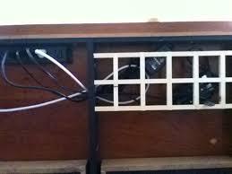 under desk cable management best home furniture decoration