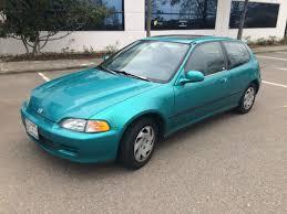 honda hatchback 1993 1993 honda civic si hatchback 5 speed 1 owner original for sale