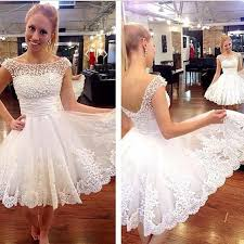 dresses for graduation 8th grade 2015 backless white lace pearls graduation dresses prom
