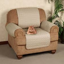 Overstuffed Chair Cover Microfiber Pet Furniture Covers With Tuck In Flaps