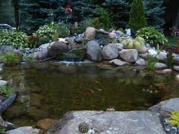 Backyard Pond Landscaping Ideas Backyard Landscape Pond Ideas Northern New Jersey Nj Bergen