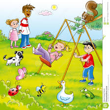 children in the park clipart 9 clipart station