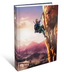 zelda breath of the wild official guide is up for pre order