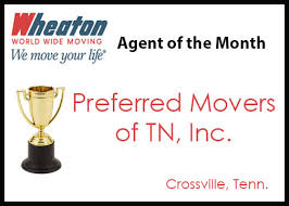 preferred movers crossville tn preferred movers of tn inc named august of the month wheaton