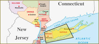Connecticut New York Map by Map Of Long Island New York My Blog