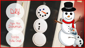 kids diy snowman from dollar tree paper plates christmas collab