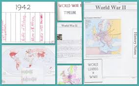 World War Ii Maps by World War Ii Notebook Pages Maps Timelines U0026 Online Resources
