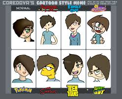 Meme Cartoons - cartoon style meme by scr3aam3r on deviantart