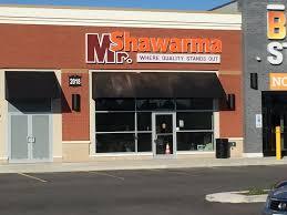 Ottawa Awning Mr Shawarma 3 Locations In Ottawa