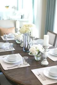 dining room table decoration dinner table decorations e e best dining room table decor ideas on