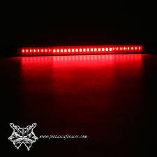 led strip lights for motorcycles universal motorcycle rear tail brake stop turn signal 48 led smd
