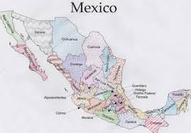 Chihuahua Mexico Map by Jigsawgeo