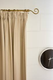 image of home decor with beige curtain and clock freebie photography