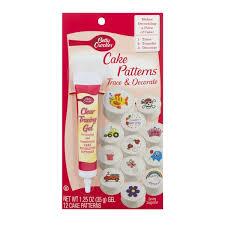betty crocker cake patterns trace u0026 decorate kit from kroger