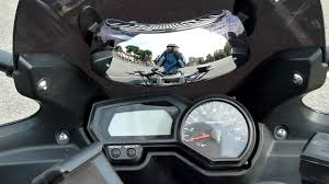 Blind Spot Mirrors For Motorcycles Riderscan First Impression Youtube