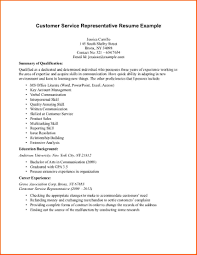 cover letter sample customer service representative resume sample