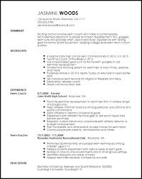 sports resume template free contemporary sports coach resume template resumenow