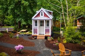 Tumbleweed House by Mt Hood Tiny House Village Scarlett Tumbleweed 0006 Tiny House