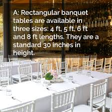8 ft banquet table dimensions what s the average size of a banquet table the eventstable blog