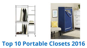 Honey Can Do 60 Double Door Storage Closet by 10 Best Portable Closets 2016 Youtube