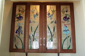 stained glass kitchen cabinet doors kitchen crafters