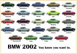 the many colors of the bmw 02 bimmer02 com