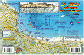 la jolla map la jolla shores map kelp forest creatures guide franko maps