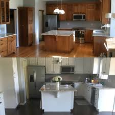 Water Damaged Kitchen Cabinets by Cabinet Refinishing Kitchen Cabinet Painters Grants Painting