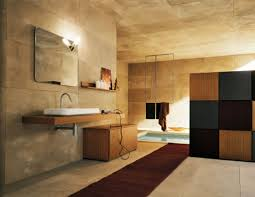 bathroom pleasing wooden along minimalist trends decoration