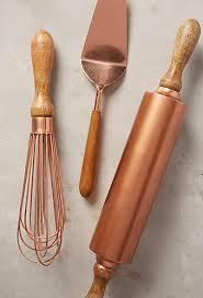 Step Lifestyle Dream Kitchen Accessories - add style to your kitchen with copper utensils copper kitchen