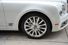 bentley mulsanne white 2017 bentley mulsanne stock b844 s for sale near chicago il