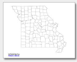 missouri map cities printable missouri maps state outline county cities