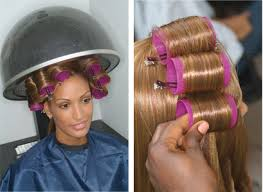 how to roller set hair roller setting black and african american