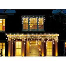 outdoor icicle christmas lights walmart holiday time 450 count led cool icicle christmas lights walmart com