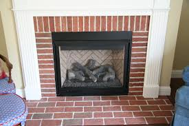 how to clean bricks around fireplace dact us