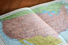 Make A Map Map Usa Showing All States Maps Of Usa A Wooden Topographic Map
