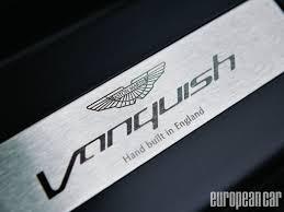 aston martin logo png 2014 aston martin vanquish european car magazine