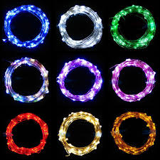 String Of Led Lights by Battery Operated Led Fairy String Lights Led Hula Hoops By