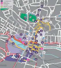 lincoln city map city cycle stands aim to reduce theft